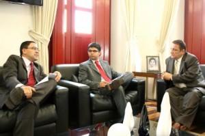 Cleones Cunha e o advogado-geral