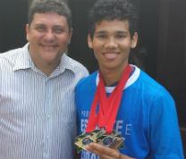 Fredson Froz e o atleta campeão