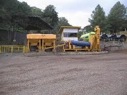 usina de asfalto