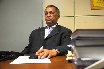 Douglas Cunha, presidente do Sindicato dos Jornalistas