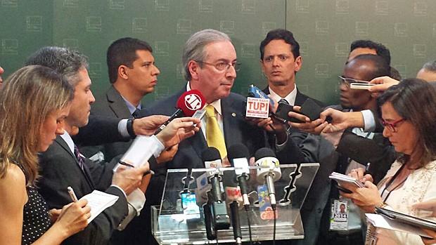 Eduardo Cunha contraria propostas de campanha