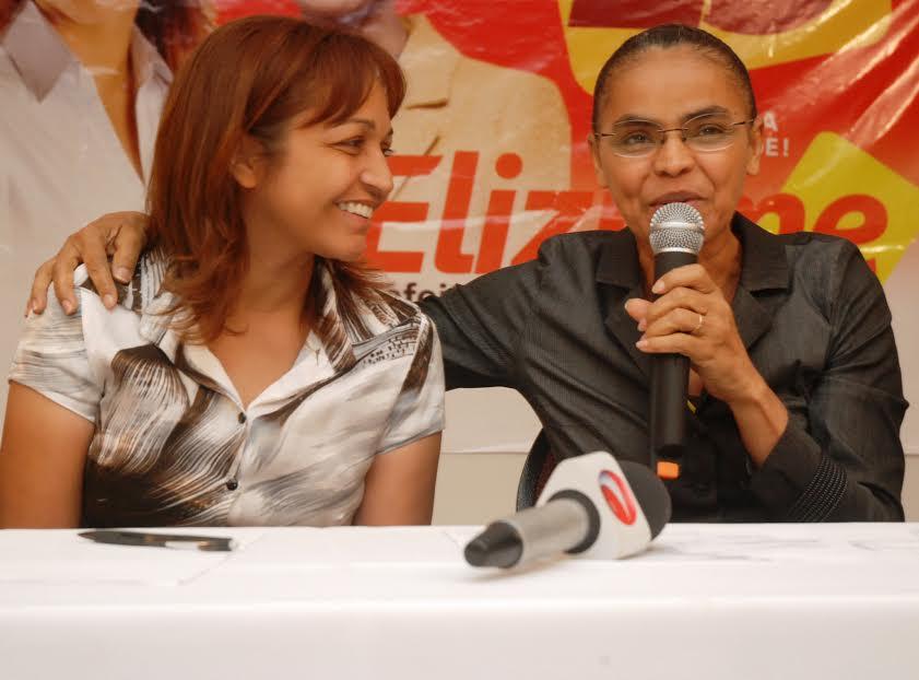 Eliziane Gama e Marina