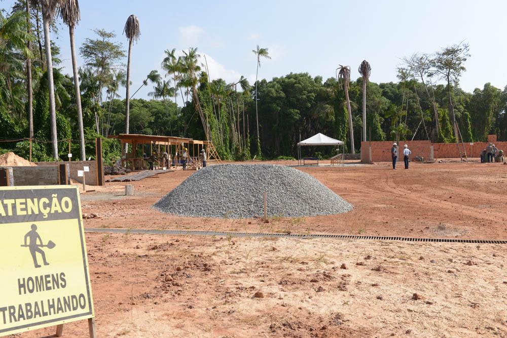 Obras do novo hospital do servidor já iniciaram ao lado do Hospital de Alta Complexidade Dr. Carlos Macieira. Foto: Nael Reis/Secom