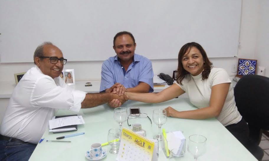 Chaguinhas, Waldir Maranhão e Eliziane Gama